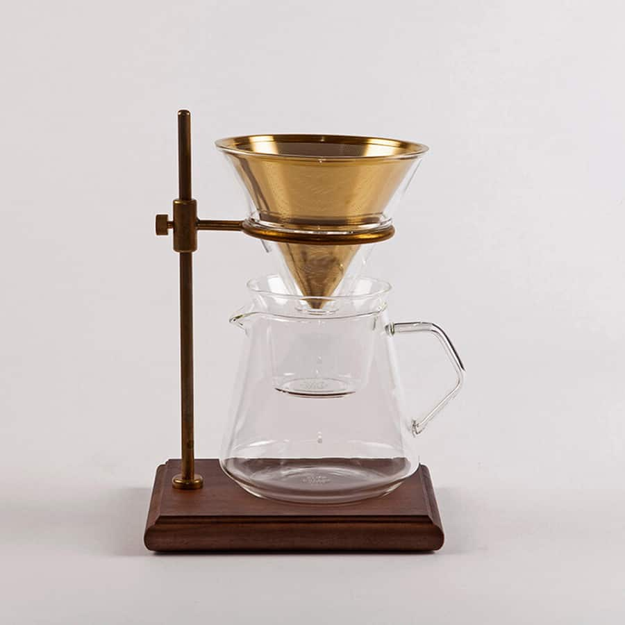 KINTO BREWER STAND SET 4 CUPS SCS-S02